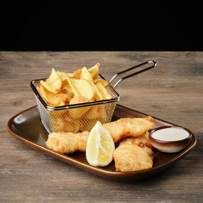 DOUBLE FISH & CHIPS