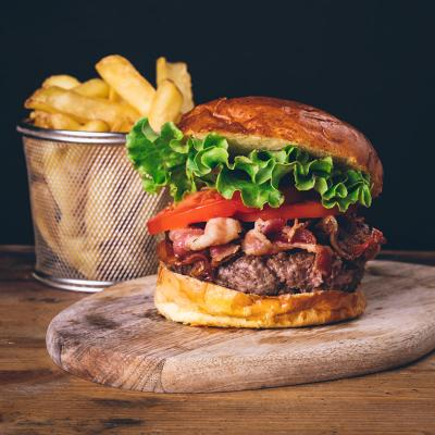 Bacon Burger Piccolo (150 gr)