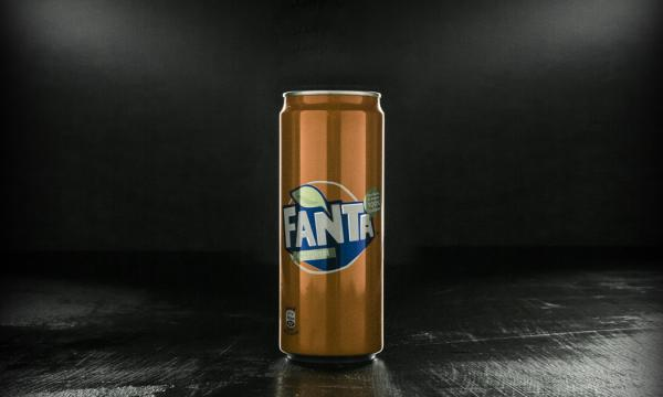 Fanta  lattina (33 cl)